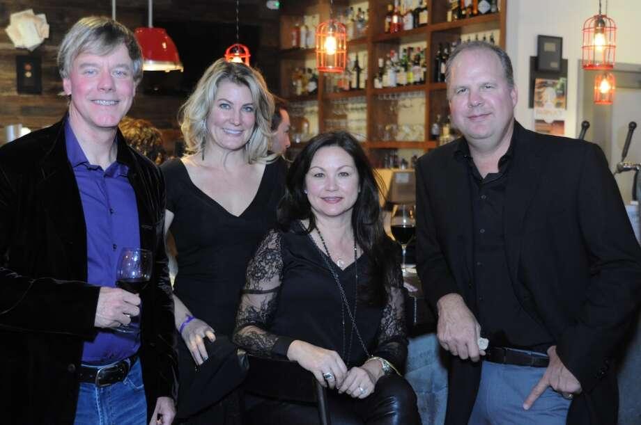 Rick Greggory, Jennifer Loh, Brenda & Herb Petry