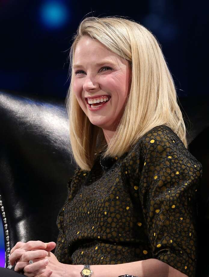 Yahoo CEO Marissa Mayer Photo: Justin Sullivan, Getty Images