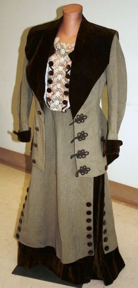 This early 1900s Edwardian vintage dress sold for $166 in early November. Photo: Photo From Goodwill