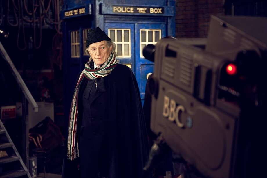 "David Bradley channels William Hartnell in Friday's original movie ""An Adventure in Space and Time"" on BBC America Photo: Hal Shinnie, BBC/BBC Worldwide"