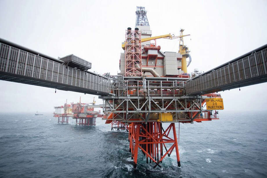 BP's offshore Valhall platform in Norway is powered from the shore via 290 kilometers of underwater cabling. Photo: BP