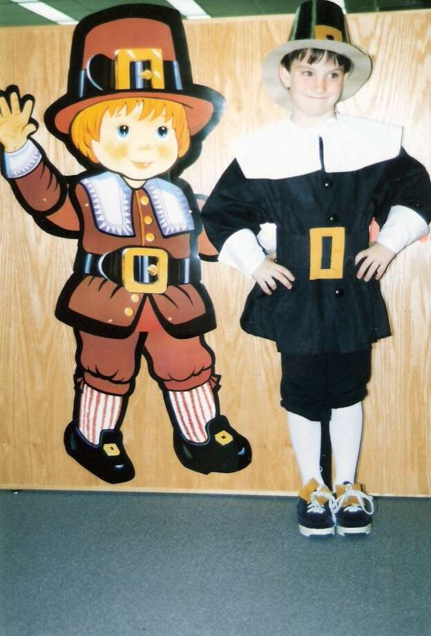 The True Meaning of Thanksgiving In 1997, six year old Patrick Baker reminds everyone the true meaning of why we celebrate Thanksgiving. Grandma Koster made the pilgrim outfit for Thanksgiving and a Santa outfit for Christmas.  Penny Baker
