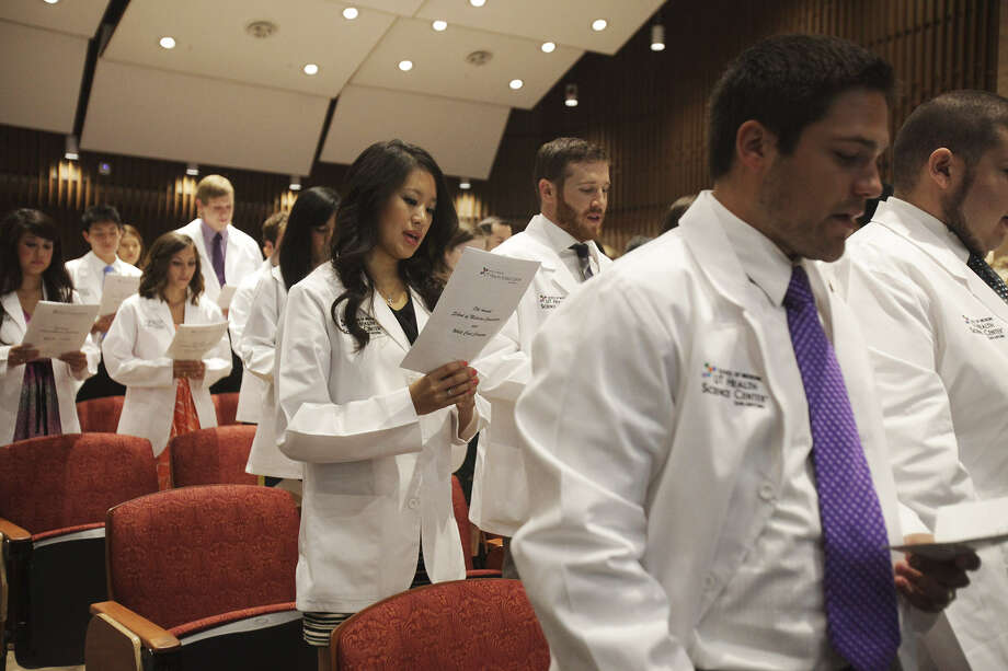 Nearly 20 percent of medical students at the University of Texas Health Science Center at San Antonio are Hispanic. Photo: Express-News File Photo