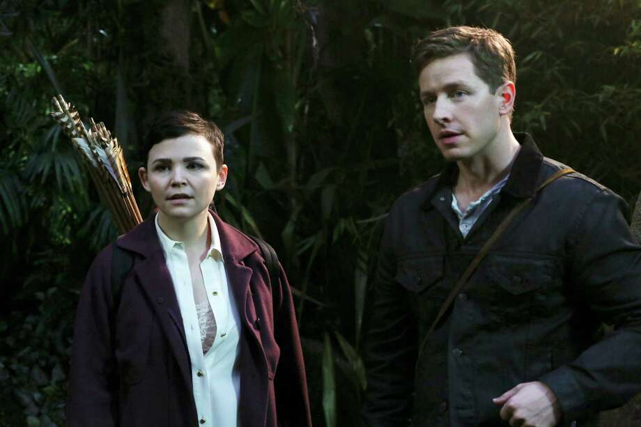 Ginnifer Goodwin and Josh Dallas play Snow White and Prince Charming in ABC's 'Once Upon a Time.'  Photo: Jack Rowand, Associated Press / American Broadcasting Companies,