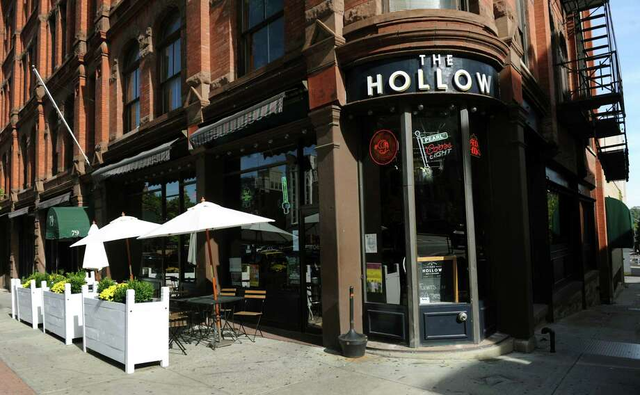 The Hollow Bar and Kitchen on Wednesday, Oct. 9, 2013, in Albany, N.Y. (Cindy Schultz / Times Union) Photo: Cindy Schultz / 00024163A