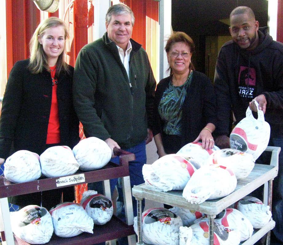 Gault Turkey Donation Energizes Carver Center S