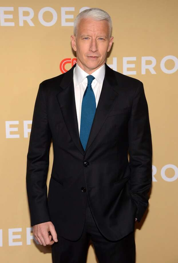 "Anderson Cooper, ""360 degrees"" of hot. Photo: Theo Wargo, WireImage"