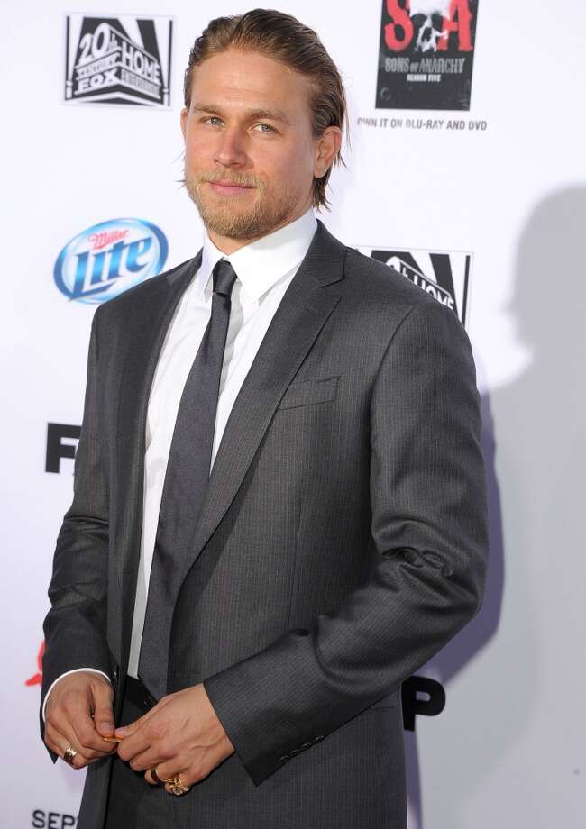 """Sons of Anarchy"" star Charlie Hunnam. He may have bowed out of ""Fifty Shades of Grey,"" but still hot in our book. Photo: Steve Granitz, WireImage"