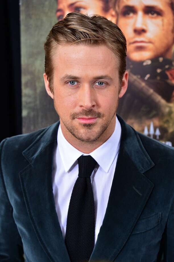 Ryan Gosling. Hey girl, I'm hot. Photo: James Devaney, WireImage