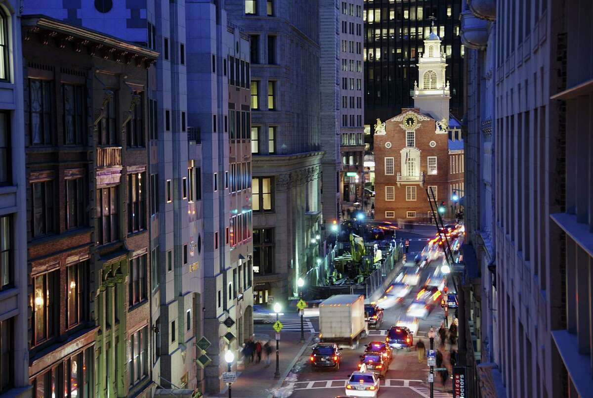 Lower gas prices and strong local economies will mean more Thanksgiving traffic this year than in the past, says traffic company INRIX. Here's the company's top cities with the worst predicted holiday traffic, starting with Boston at No. 10. Drivers here can expect to spend 23 percent more time in the car on the day before Thanksgiving than on a typical Wednesday afternoon.
