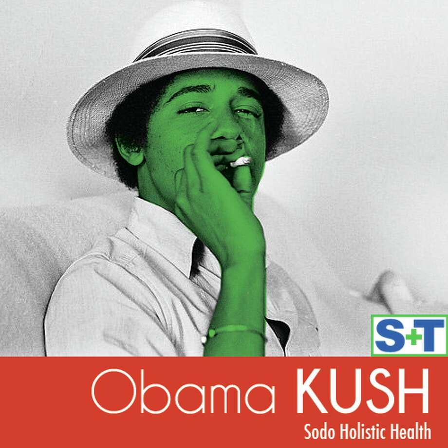 Pack some Obama Kush from Washington's Sodo Holistic Health for a rather presidential high.