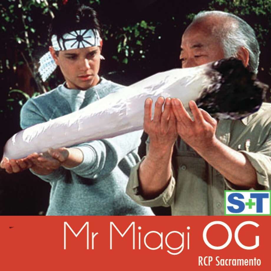 Smoke a bowl of Mr. Miagi OG from RCP Sacramento and deliver a crane kick to your dome in a good way.
