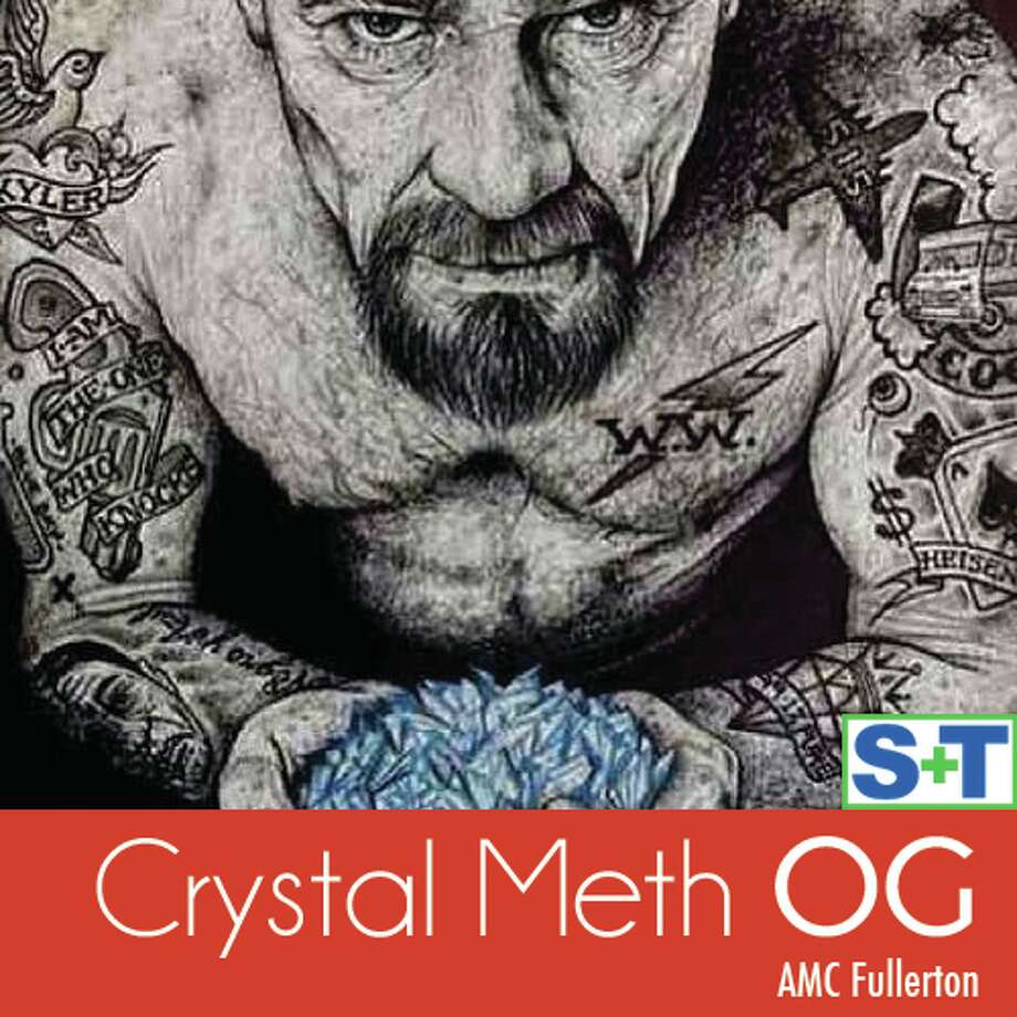 We hope Heisenberg didn't lace this Crystal Meth OG from AMC Fullerton with some ricin.