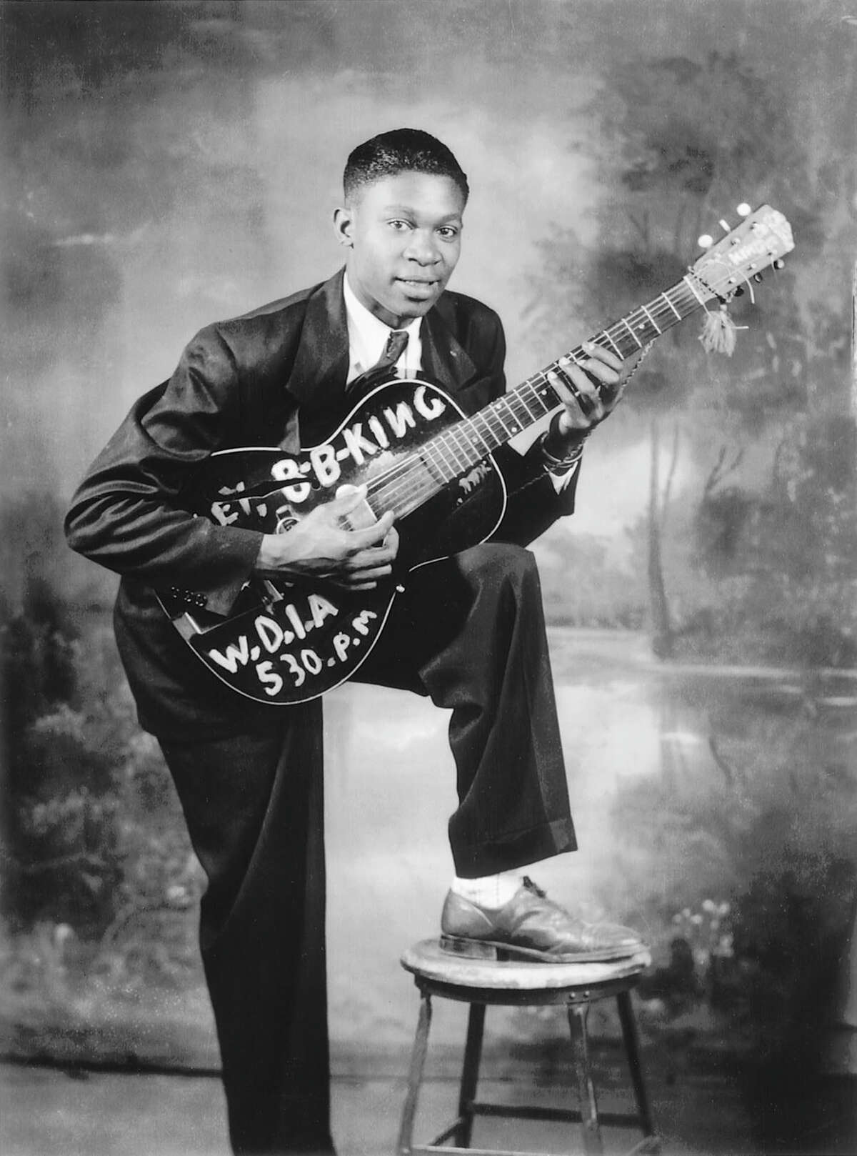 B.B. King in Memphis, 1948.