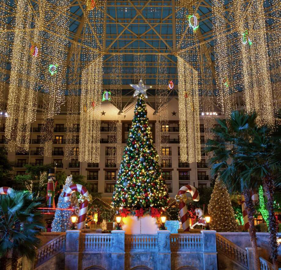 """Lone Star Christmas"" at the Gaylord Texan includes a 54-foot rotating Christmas tree. Photo: Dan Ham, Owner / ONLINE_YES"
