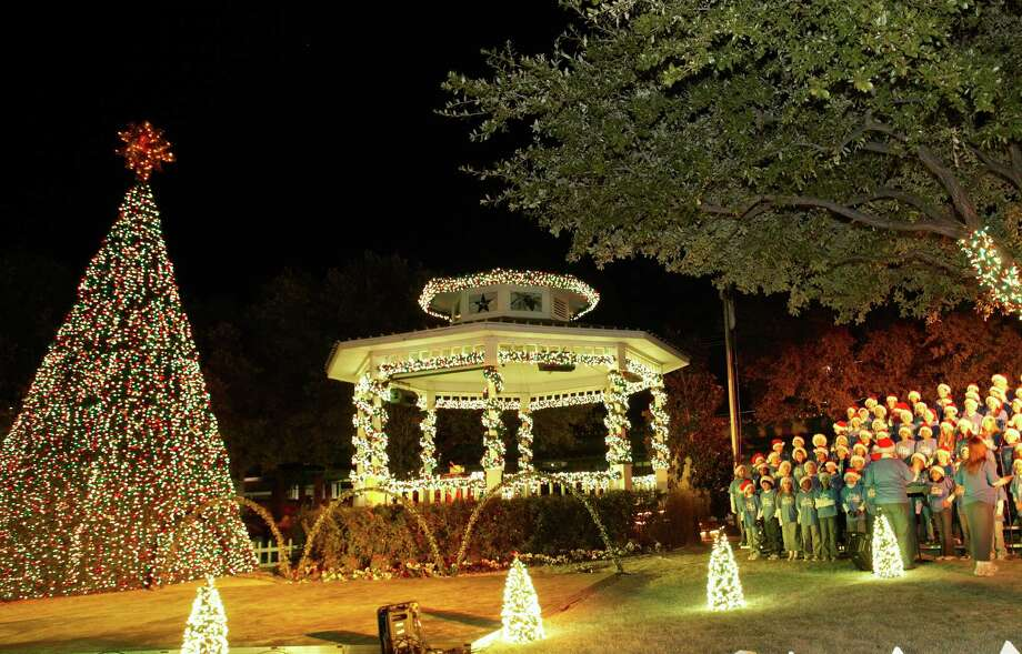 "Grapevine calls itself the ""Christmas Capital of Texas."" / ONLINE_YES"