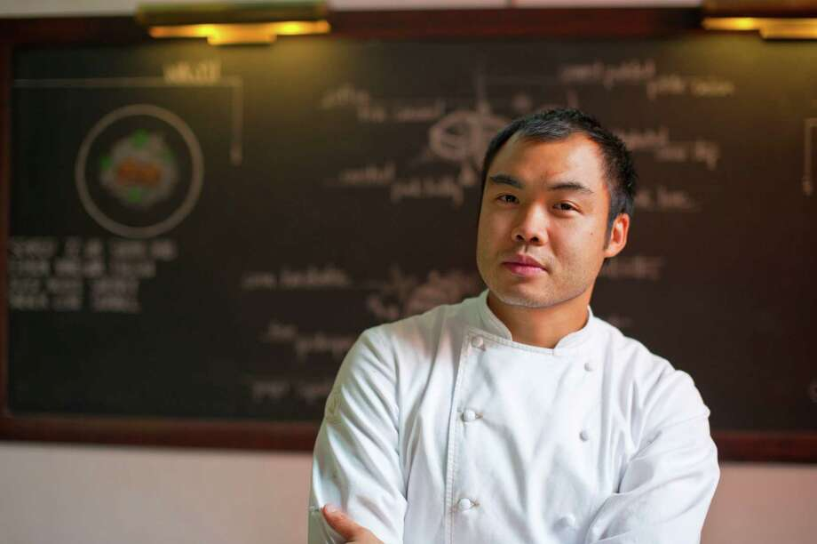 """A chef based in Austin has been named Esquire magazine's 2014 Chef of the Year. Esquire praised Paul Qui, who runs Qui Restaurant and East Side King in Austin, for his """"fluid skill"""" which makes his work hard to classify. Photo: Rebecca Fondren"""