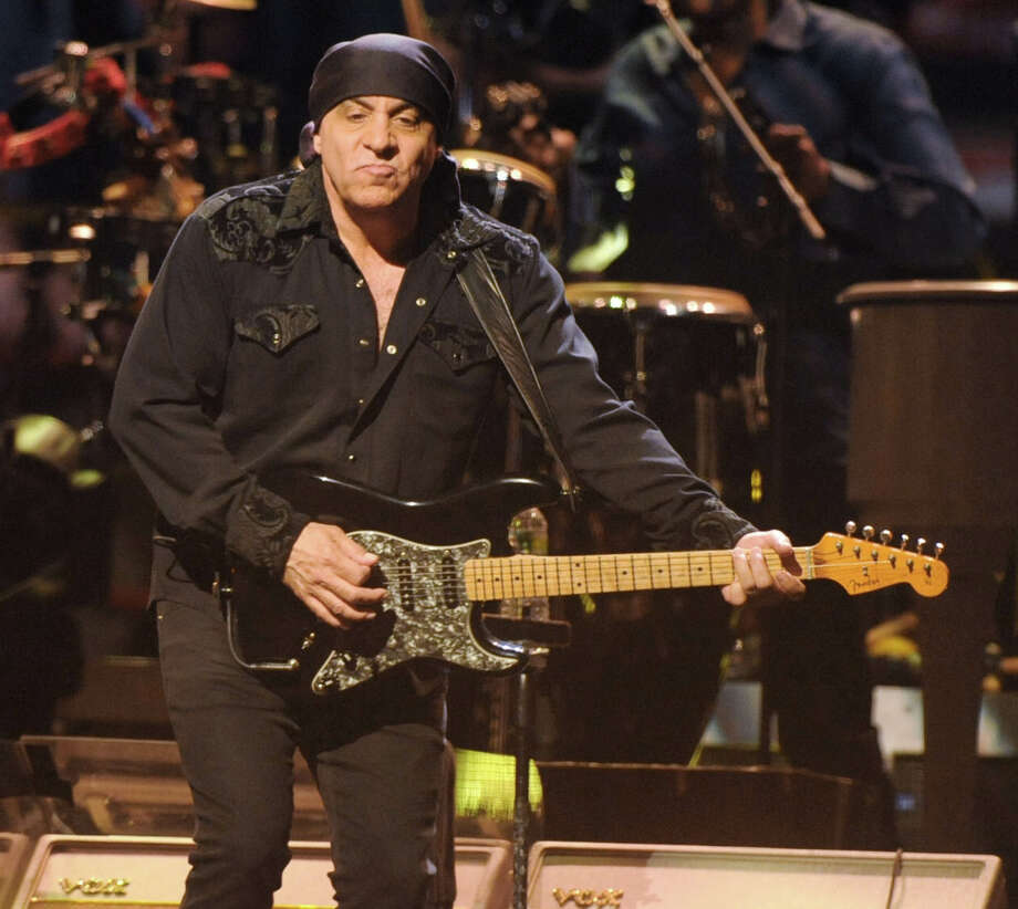 """Founding member of Bruce Springsteen?s E Street Band Steve Van Zandt """"Little Steven""""  performs to a sold out crowd at the Times Union Center on April 16, 2012 in Albany, N.Y. (Lori Van Buren / Times Union) Photo: Lori Van Buren / 00017239A"""