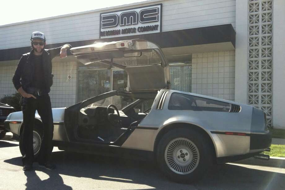 Musician and actor Rakoon has owned his 1981 DeLorean DMC-12 since 2012.