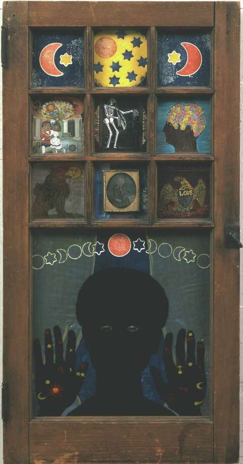 Betye Saar. Black Girl's Window, 1969. Assemblage in window. 35 ¾ x 18 x 1 ½ in. (90.8 x 45.7 x 3.8 cm). The Museum of Modern Art, New York. The Modern Women's Fund and Committee on Painting and Sculpture funds.