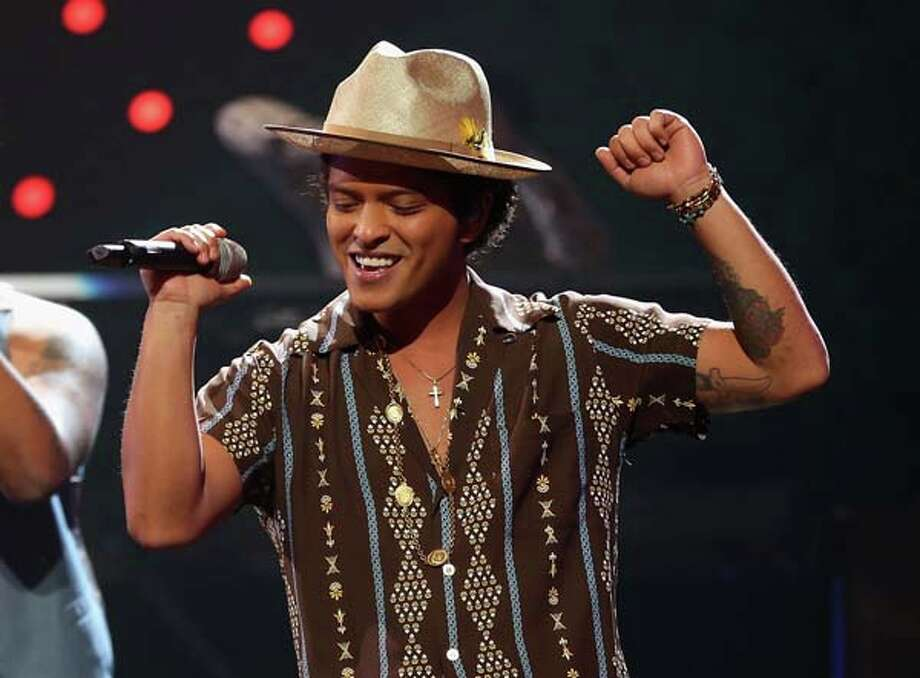Bruno Mars Photo: Christopher Polk, Getty Images For Clear Channel / 2013 Getty Images