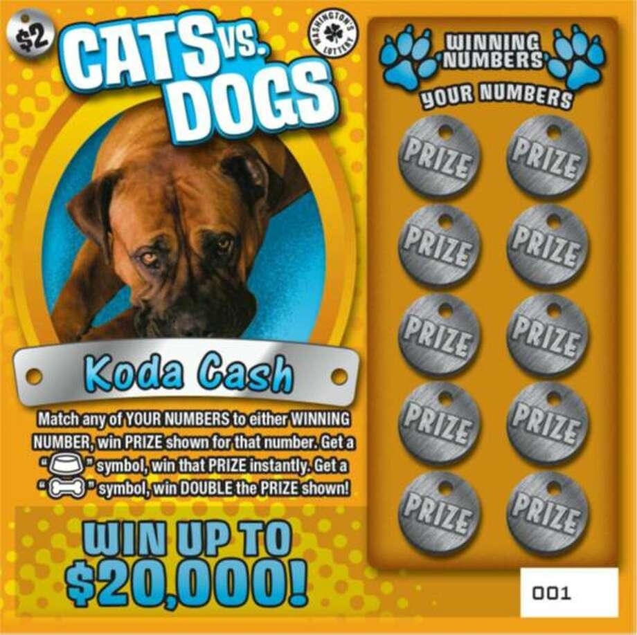 Koda Cash. Owner Cheri Lewis of Centralia. Photo: Washington Lottery