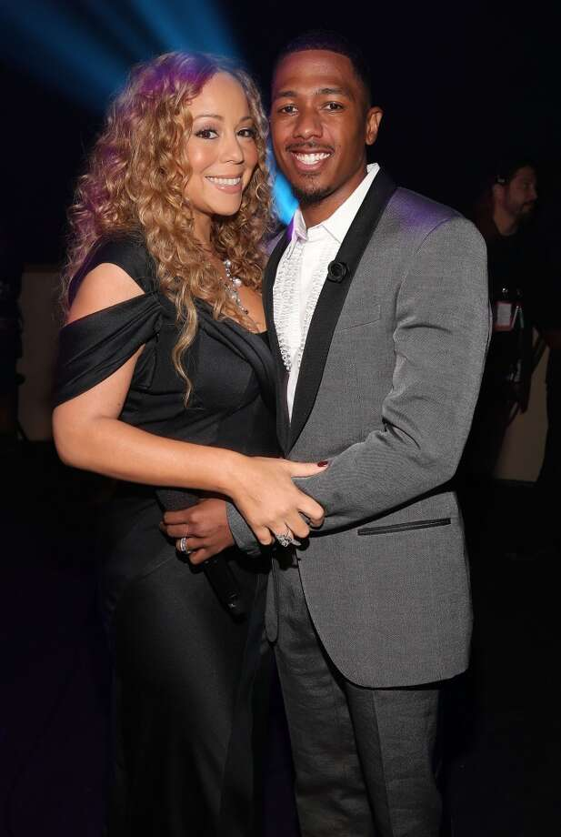 "Mariah Carey and Nick Cannon met on the set of Carey's video ""Bye Bye"" and and later a post -marriage look at the couple in 2012's ""Love Story."" As of this writing, the couple have thus far escaped the music video coupling curse. Photo: Christopher Polk"