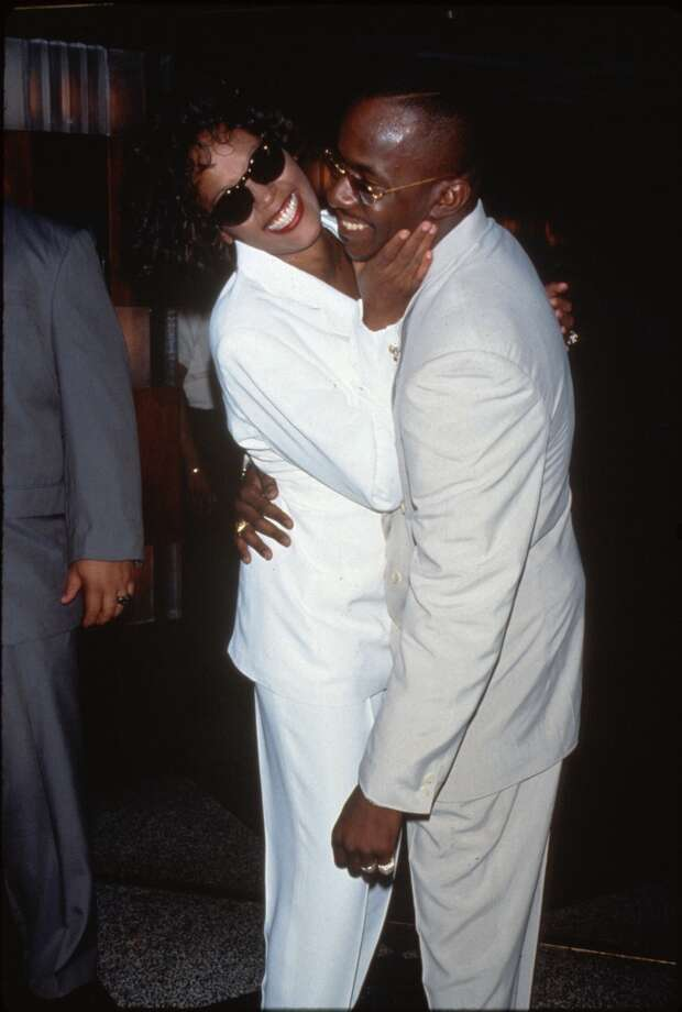 "Whitney Houston and Bobby Brown had ""Something in Common"" in 1993. The pair divorced before Houston's death in 2012. Photo: Time Life Pictures, Time & Life Pictures/Getty Image"