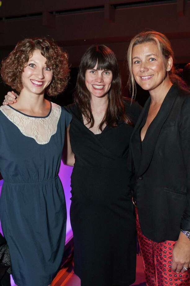 Josie Sadan, Megan Riddle and Michelle Hansen at Get In Front, a benefit for the Cancer Prevention Institution of California, on November 12, 2013. Photo: Drew Altizer Photography/SFWIRE, Drew Altizer Photography / ©2013 by Drew Altizer, all rights reserved