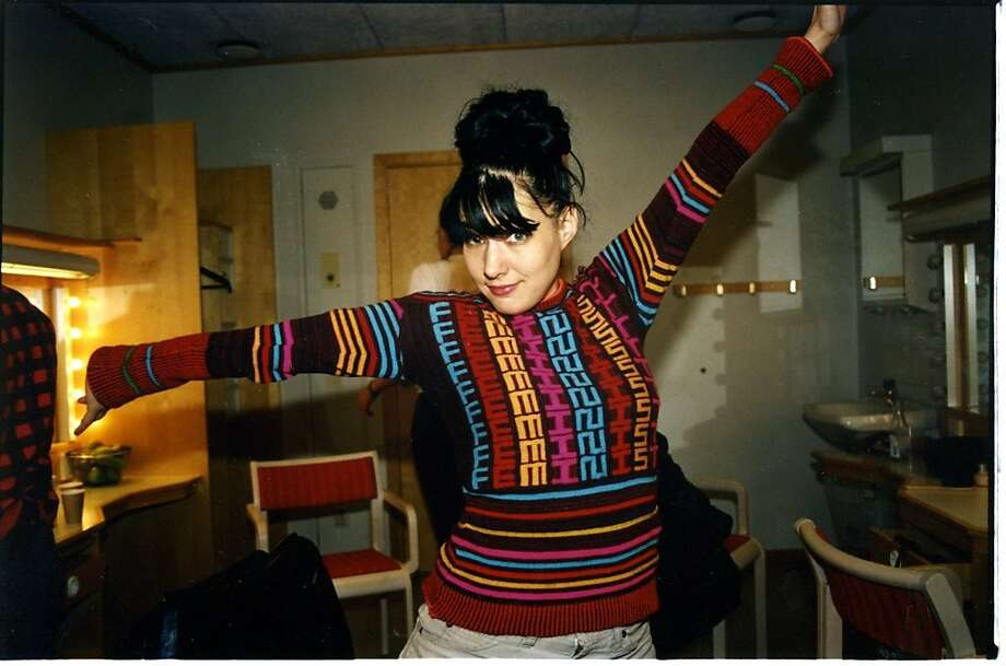 """The influential Kathleen Hanna, profiled in Sini Anderson's documentary """"The Punk Singer."""" Photo: IFC Films"""