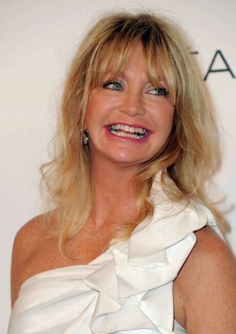 BEVERLY HILLS, CA - OCTOBER 18:  Actress Goldie Hawn arrives at ELLE's 17th Annual Women in Hollywood Tribute at The Four Seasons Hotel on October 18, 2010 in Beverly Hills, California.  (Photo by Alberto E. Rodriguez/Getty Images) Photo: Alberto E. Rodriguez, Staff / Getty Images North America