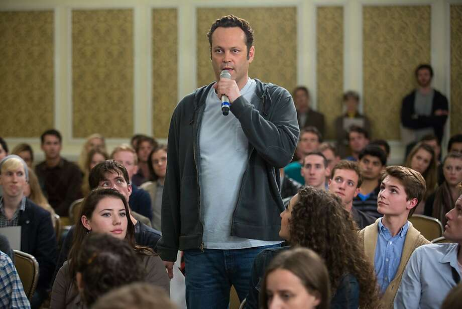 Vince Vaughn is strangely subdued in the comedy about a meat deliveryman who fathered 533 children as a sperm donor more than 18 years ago. Photo: Jessica Miglio, Walt Disney Pictures