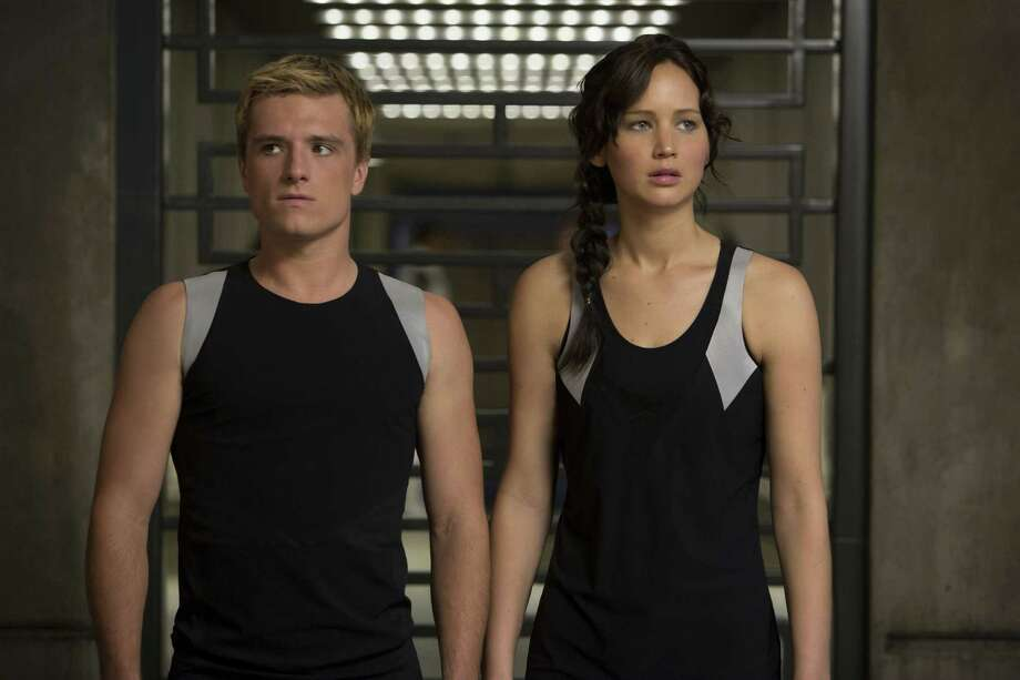 Peeta Mellark (Josh Hutcherson) and Katniss Everdeen (Jennifer Lawrence) prepare for the Quarter Quell. Photo: Photos Courtesy Lionsgate Studios