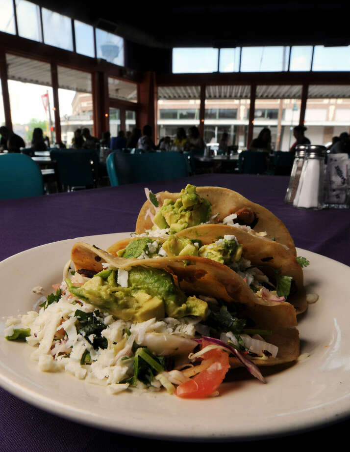 Griselda's Tacos is one of the menu items from Rosario's Mexican Café y Cantina.