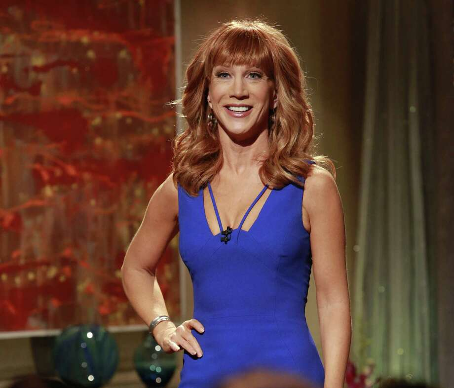 Kathy Griffin (right) will set a record when she performs at the Majestic Theatre on Sunday. Whitney Cummings (inset) brings her blunt style to the Empire on Friday. Photo: Bravo / NBCU Photo Bank