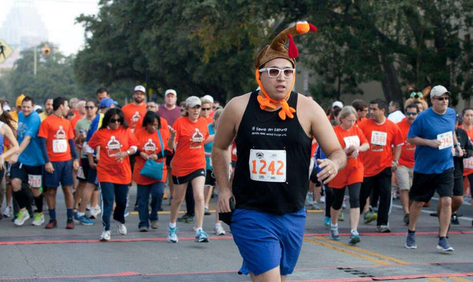 The Great Turkey Challenge 5K benefits the San Antonio Food Bank. It's at 8:30 a.m. on Thanksgiving Day. Photo: Courtesy Photo