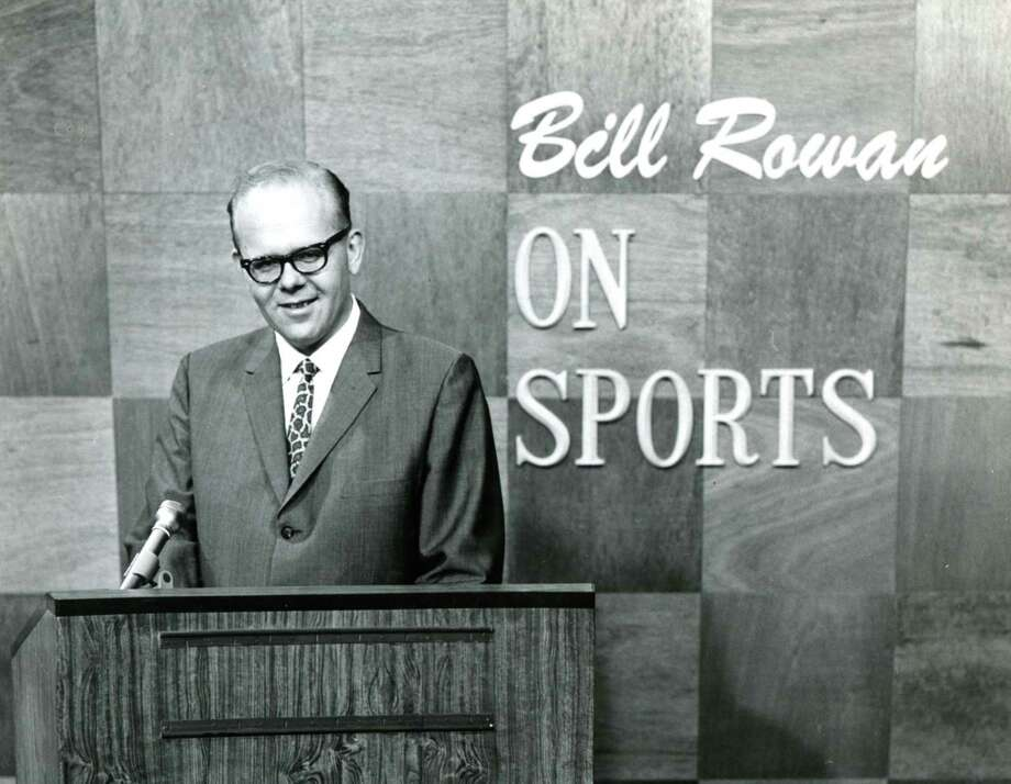 "Bill ""Rip"" Rowan, April, 1968. (Times Union archive)"