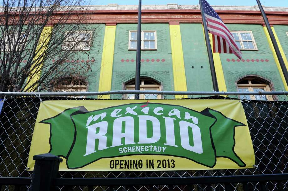 The Metroplex Development Authority promised tax breaks to Mexican Radio, a new restaurant slated to open early next year in downtown Schenectady. (Lori Van Buren / Times Union) Photo: Lori Van Buren / 00024718A