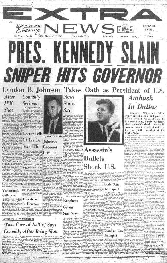 San Antonio Evening News. Photo: Google News Archive
