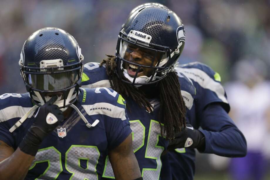 What's next for the red-hot Seattle Seahawks  This week, the Seahawks are taking a much-deserved break. After winning 10 of their first 11 games, the Hawks have a chance to rest up with a bye week while the rest of the NFL keeps getting banged up. It seems the bye couldn't have come at a better time -- the Seahawks are on a roll, they just returned key injured players and Percy Harvin loudly announced his arrival to Seattle in Sunday's 41-20 beatdown of the Minnesota Vikings.  With the opportunity this week to step back and take a breather, we thought it'd be a good time to check in on the overall status of the red-hot Seattle Seahawks. How is Russell Wilson doing compared to the rest of the NFL? How likely is it that Seattle will power through the playoffs? What's the Seahawks' biggest challenge down the stretch? Take a look through this gallery to find out. Photo: Ted S. Warren, Associated Press