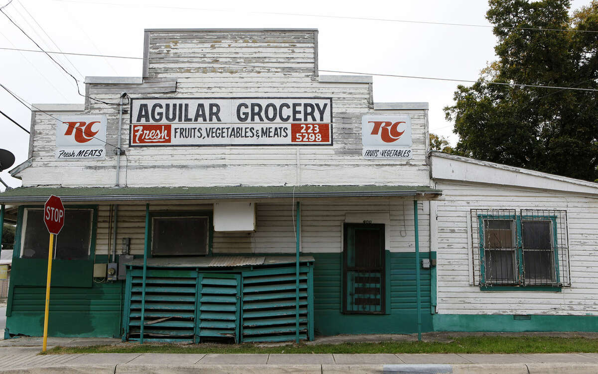Aguilar Grocery located at 900 Leal St. in District 1, is being considered for historic landmark designation.