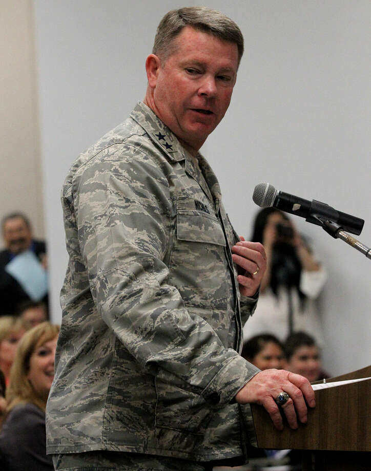 Maj. Gen. John Nichols — Texas adjutant general — said one option to cut the defense budget is to rely more on National Guard forces and military reserves. Photo: John Davenport / Express-News