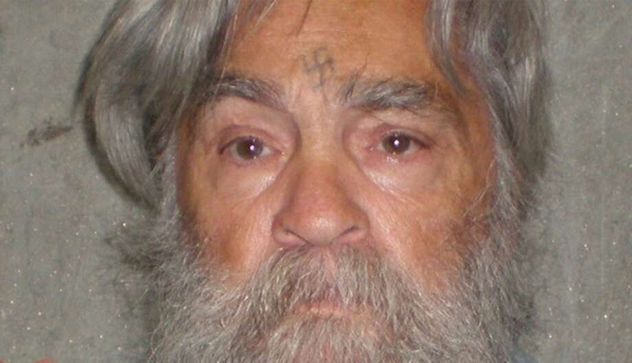 This April 4, 2012 file photo provided by the California Department of Corrections shows 77-year-old serial killer Charles Manson Wednesday, April 4, 2012. Photo: Anonymous, Associated Press