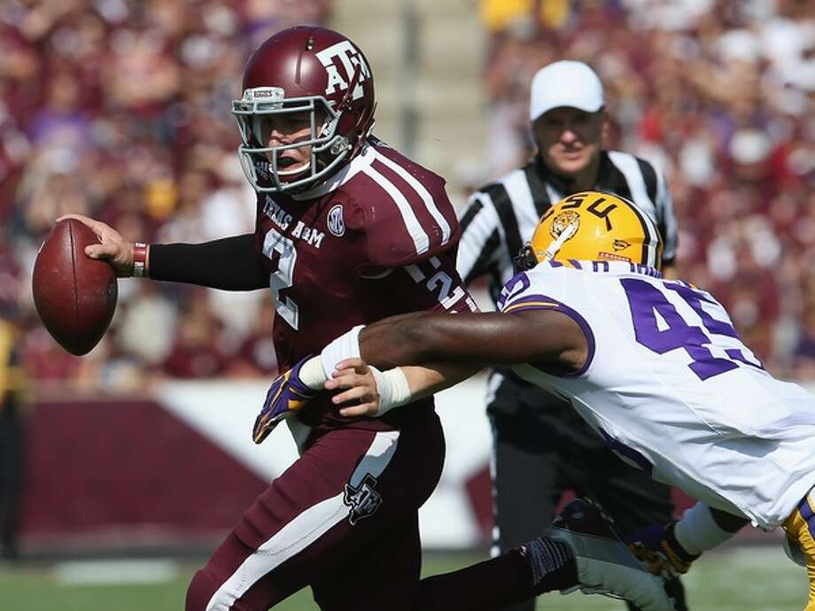 Manziel was shut down last season by LSU at Kyle Field.