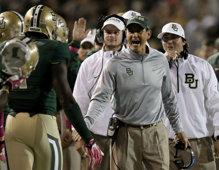 Briles and Bears face toughest test on bullet train to Big 12 title. Photo: Tony Gutierrez, AP / AP