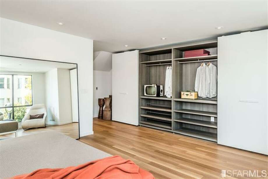 Very spacious closet in bedroom.  Photos via MLS/Frank Nolan, Vanguard Properties