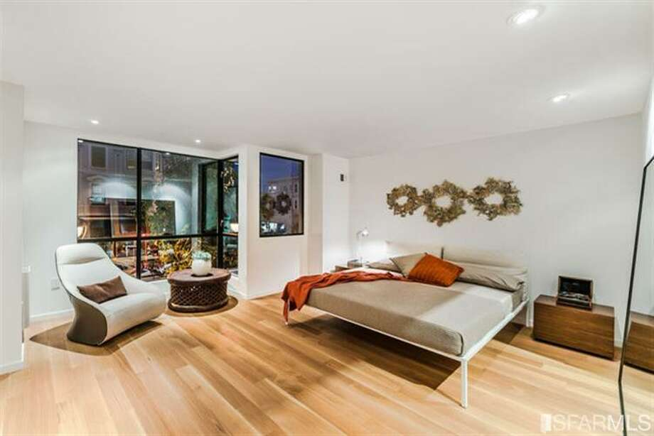 Bedroom with Mission view.  Photos via MLS/Frank Nolan, Vanguard Properties