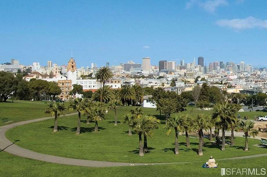 Dolores Park nearby!  Photos via MLS/Frank Nolan, Vanguard Properties