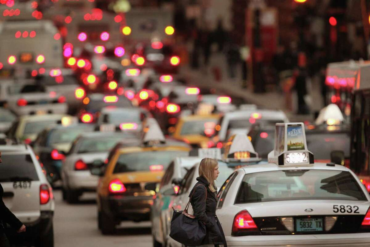 8. Chicago: Pre-holiday traffic will be 24 percent worse than normal Wednesday traffic. \