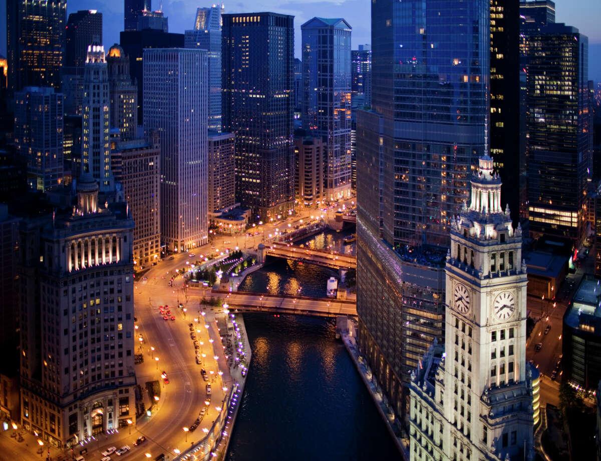 No. 10 - Chicago 8 percent of population
